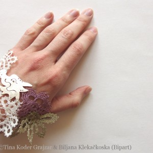 Lace Dragon bracelet